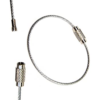 XY Find It Wire Keychain (Silver)