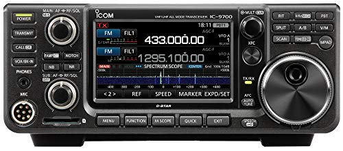 - Icom IC-9700 VHF/UHF/1.2GHz D-STAR Base Station Transceiver
