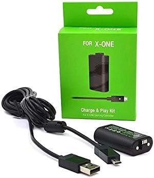 ArgoBa para Kit de batería XBOXone para batería Xbox One + Cable de Carga Batería Recargable Xbox One batería: Amazon.es: Electrónica