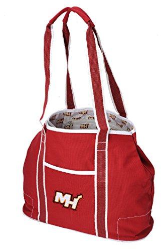Accessories Miami Heat (The Northwest Company NBA Miami Heat Hampton Tote, 12-Inch, Maroon)