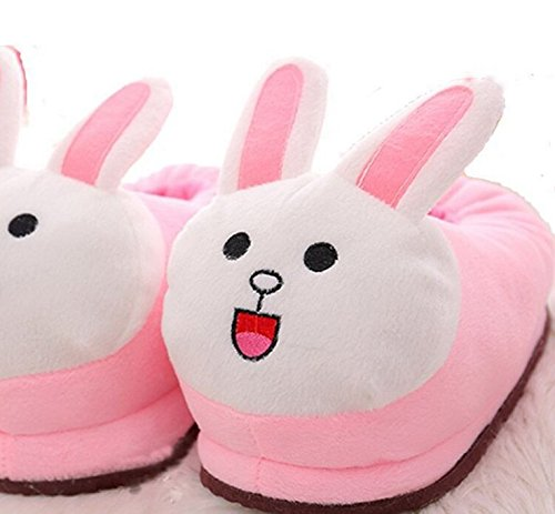 Cartoon Cute Slipers Shoes Winter Soft Warm Rabbit Plush Slippers PqwXn