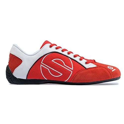 Sparco 00120239RS Esse Red Size-39 Canvas Shoe ()