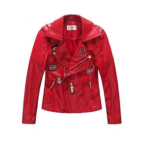 Modern Designer Faux Leather Jacket&Coats