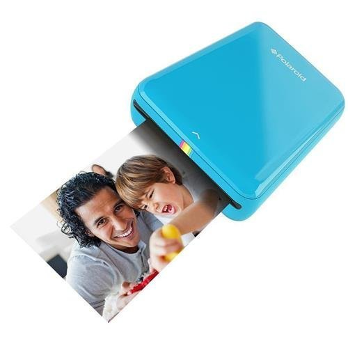 Polaroid ZIP Mobile Printer w/ZINK Zero Ink Printing Technology - Compatible w/iOS & Android Devices - Blue - Mini Printer Mobile