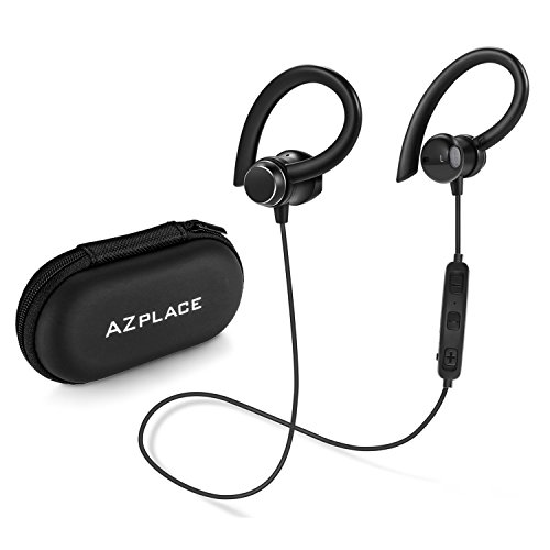 Magnetic Earbuds Wireless Best Bluetooth Sports Earphones w/Mic IPX5 Waterproof HD Stereo headphones Sweatproof for Gym Running Workout 8 Hour Battery Noise Cancelling Headsets black (black001)