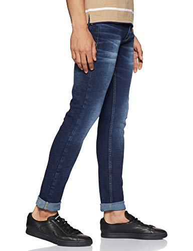 Spykar Men's Casual Skinny Jeans 2021 July Care Instructions: Machine Wash Fit Type: Skinny Skinny Fit