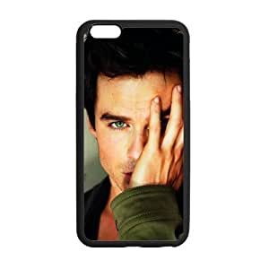 iPhone 6 Plus Case, [Ian Joseph Somerhalder] iPhone 6 Plus (5.5) Case Custom Durable Case Cover for iPhone6 TPU case(Laser Technology)