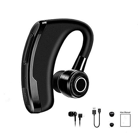 HHLUW Auriculares Inalámbricos Bluetooth De Izquierda A Derecha Única Oreja Auricular Inalámbrico Bluetooth para Teléfono Manos Libres Ligero Auricular ...
