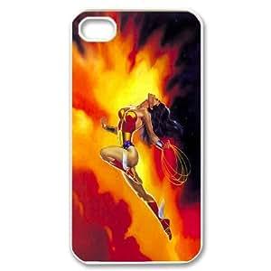 High Quality (SteveBrady Phone Case) SuperHero Wonder Woman For Iphone 4 4SPATTERN-14
