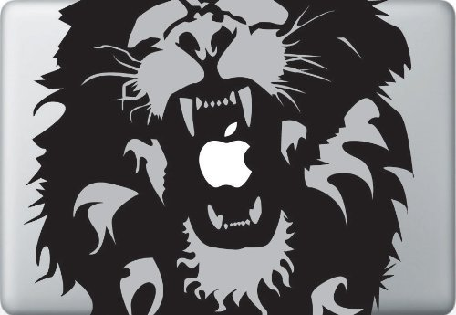 Lion Air (Roaring Lion Decal Removable Vinyl Decal for Apple Macbook Pro Air 13 15 inch)