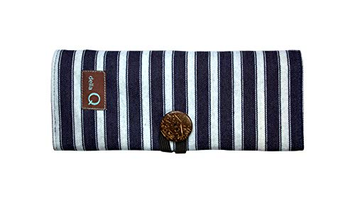HiyaHiya Sharp Limited Edition Interchangeable Knitting Needle Set with Della Q Case (4'' Tips, Stripe Pattern) by HiyaHiya (Image #1)