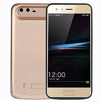 Huawei Honor 9 Funda Batería, LifeePro para Huawei Honor 9 Portable Charging Case 6500mAh Recargable Externo Portátil Power Bank Backup Cubierta ...