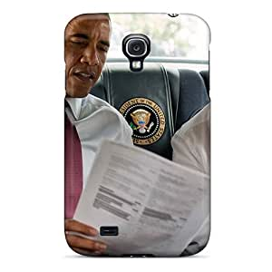 Defender Case With Nice Appearance (men Politics Dmitry Medvedev And Barack Obama) For Galaxy S4