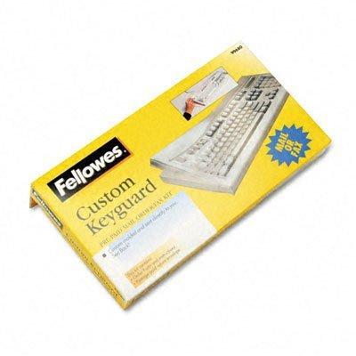 FEL99680 - Fellowes Antimicrobial Custom Keyguard Cover Kit