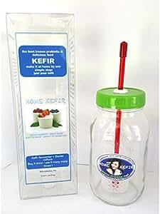 Kefir Fermenter 0.6L590ml with Dry Kefir Grains