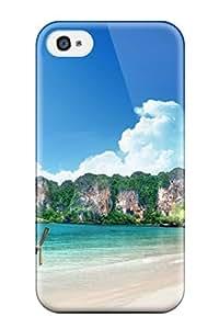 Tough Iphone DejQOzU3056zKukP Case Cover/ Case For Iphone 4/4s(tropical)