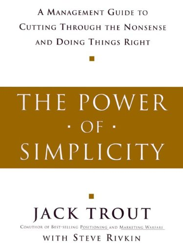 read unlimited books online power of simplicity jack trout book