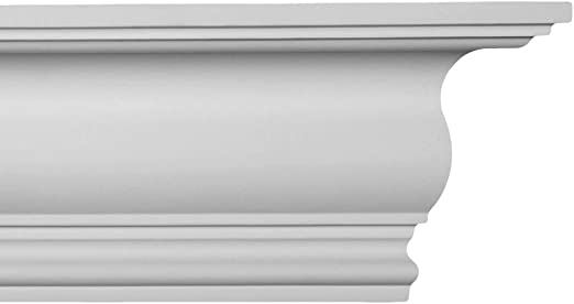 Plastic Crown Moulding Manufactured with a Dense Architectural Polyurethane Compound Crown Molding CM-1131 Crown Molding. 6