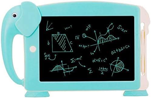 ライティングタブレット子供の漫画の執筆タブレットLCDライティングボードインテリジェント電子黒板LCDライティングタブレットLCDライティングタブレットキッズ(色:ブルー、サイズ:10.5インチ)