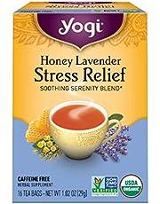 Yogi Tea Herbal Stress Relief, Honey Lavender 16 ea