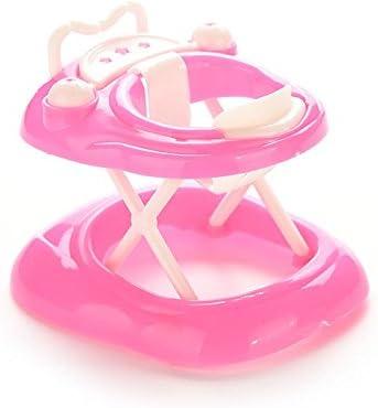 Amazon.com: 1 x Rosa Baby Walker de plástico para muñeca ...