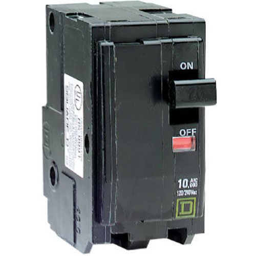 SQUARE D BY SCHNEIDER ELECTRIC QO250C DP Circuit Breaker, 50 Amp EMY-1053671