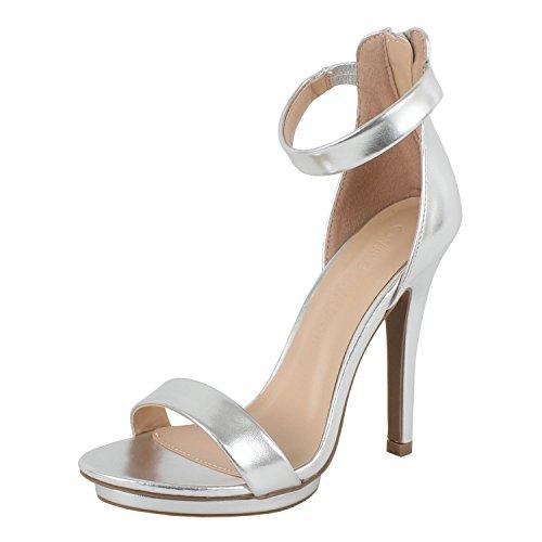 01 Silver Women Sandal - 2