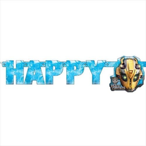 (Transformers 'Revenge of the Fallen' Light Up Happy Brithday Banner)