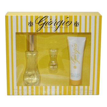 Giorgio Beverly Hills Perfume by Giorgio Beverly Hills for Women. 3 Pc. Gift Set