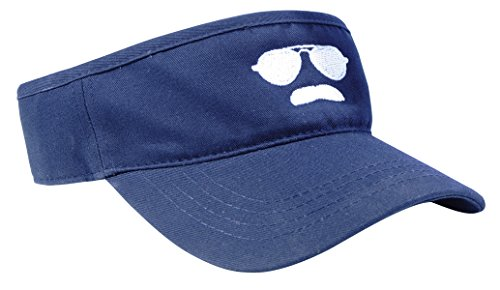 Ditka Kids Gridiron Clothing Da Coach Aviator Visor (Navy - Sunglasses Ditka