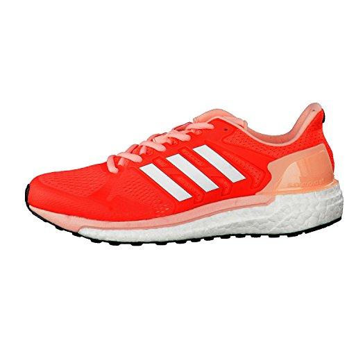 Adidas Supernova St W, Chaussures de Tennis Femme, Orange (Corsen/Ftwbla/Corneb), 44 EU