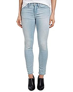 Jeans Womens Ankle Skinny Jean, Faded Sky, 10