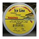 Turner's Merchant House ICE Fishing TIP-UP LINE 27# Test 150YD Spool Sand Color Braided Nylon