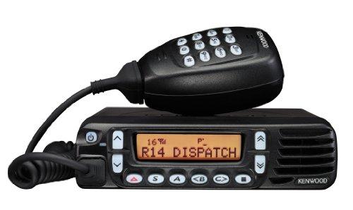 Kenwood TK-8180K UHF Trunking Mobile Two Way Radio - Kenwood Hand Mic