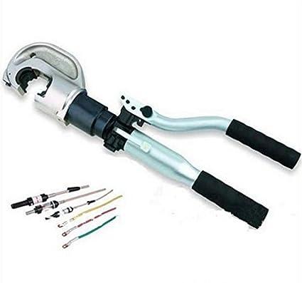 mabelstar hidráulico crimpadora de compresión hidráulico crimpadora de alambre alicates herramienta ht-13042 gama 50