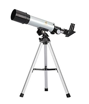 GEERTOP 90X Portable Astronomical Refractor Telescope, 360X50mm, For Kids Sky Star Gazing & Birds Watching