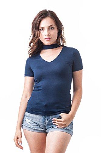 Khanomak - Camisas - para mujer azul marino