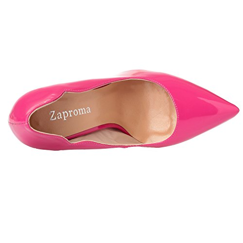 36 Rose Red ZAPROMA col 5 Donna ARC Rosso Tacco Scarpe 01 qwqzSgR0