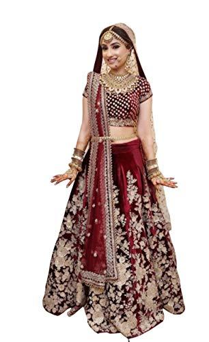 - designer heavy bridal wedding lehenga choli 1034