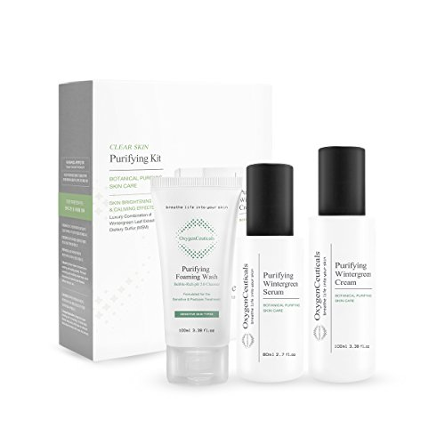 Oxygenceuticals Purifying Kit 3 Products Cleanser Serum Cream Acne Care Set Blemish Care Set Buy Online In Barbados Missing Category Value Products In Barbados See Prices Reviews