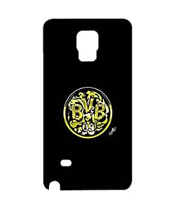 NeydisFroz-Team Logo Samsung Galaxy Note 4 Case-Excellent Bundesliga Fc Borussia Dortmund(Bvb) Hard Cell Phone Case Galaxy Note 4