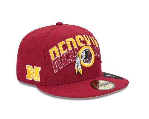27c7159b5 Amazon.com   NFL Washington Redskins Kid s 2013 Draft 59FIFTY Fitted Cap    Sports Fan Baseball Caps   Clothing
