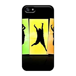 Tpu Case Cover Compatible For Iphone 5/5s/ Hot Case/ Crazy Jumps Wide Kimberly Kurzendoerfer