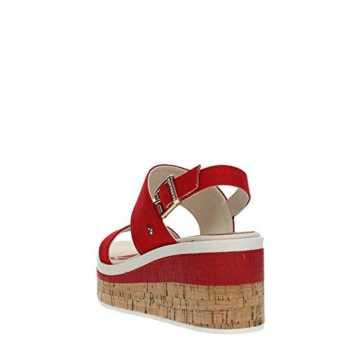 U Femme Fleur4110s8 Red Assn s Sandale Polo xXqr6Xnw1