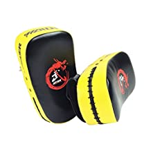 MagiDeal High Quality Curved Boxing Kick Shield Target Forcus Punching Pad MMA Taekwondo Karate Gym Training Gear