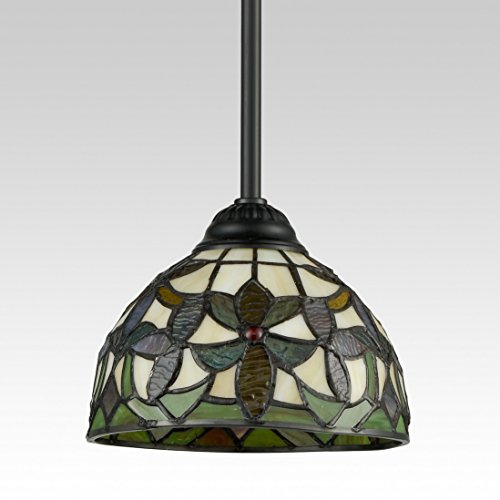 stained glass ceiling light. EUL Tiffany Style Mini Pendant Light Art Stained Glass Ceiling Fixture