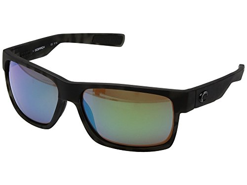 Costa Del Mar HFM140OGMGLP Half Moon Sunglass, Tiger Shark Ocearch Green - Sun Sunglasses Moon And