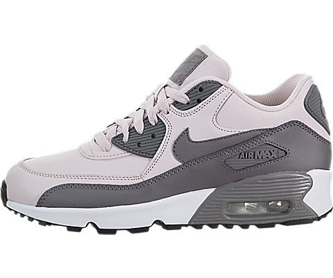 Nike Youths Air Max 90 Leather Trainers