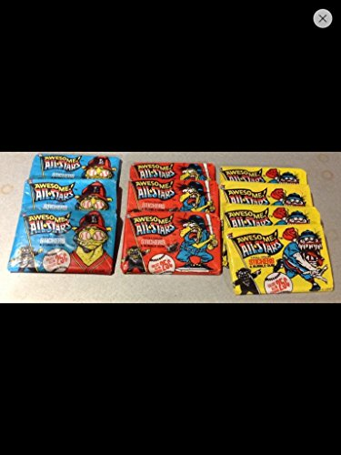 10 Packs of Wacky Baseball Cards 1980s Vintage Trading Cards (10) Unopened Packs Leaf Non--sport Awesome from Leaf