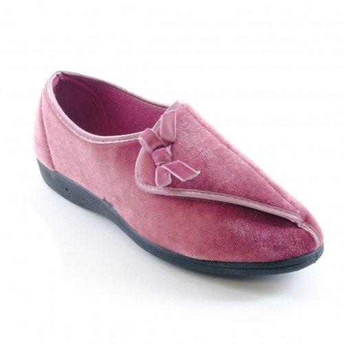 Chaussons--fermeture-Velcro-Femme
